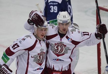 Ставки на плей-офф КХЛ. Донбасс - Динамо Рига: настало время решающих матчей