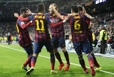 """""""Барселона"""" - """"Сельта"""": ждем голов от каталонцев"""
