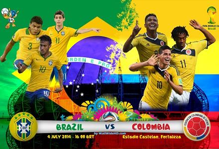 Ставки на ЧМ 2014. Бразилия - Колумбия. Легкой прогулки пентакампеонам не видать