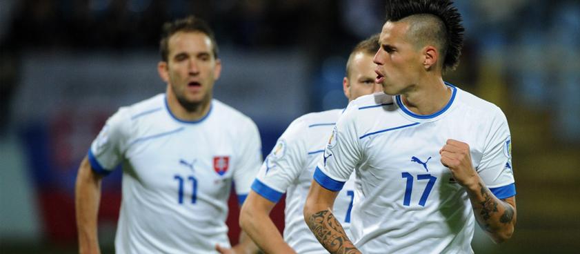 Ставки от гандикапера The Red на матч Словакия – Украина