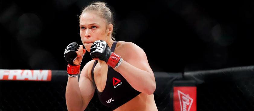 UFC. Ронда Роузи - Холли Холм. Прогноз Анастасии Яньковой