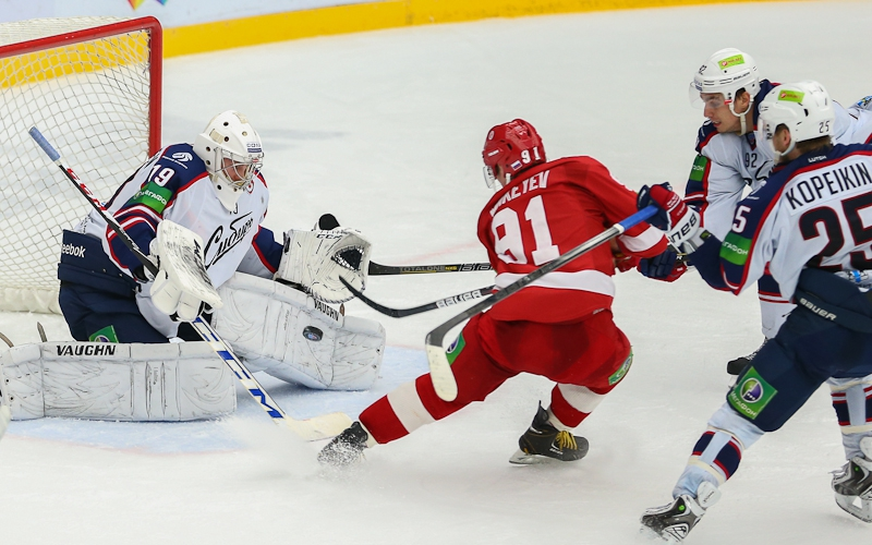 Двойник на матчи КХЛ